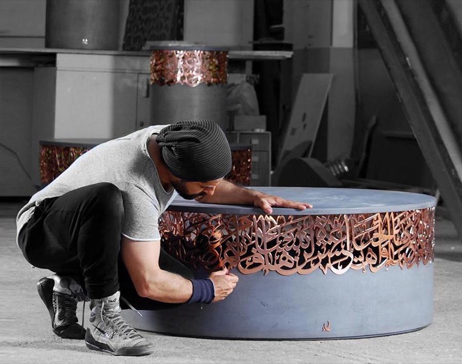 artistas oriente medio Iyad Naja