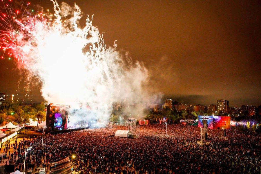 Lollapalooza Santiago de Chile 2018