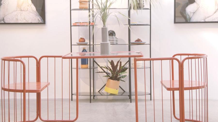 Sello de diseño, comunidad y estética