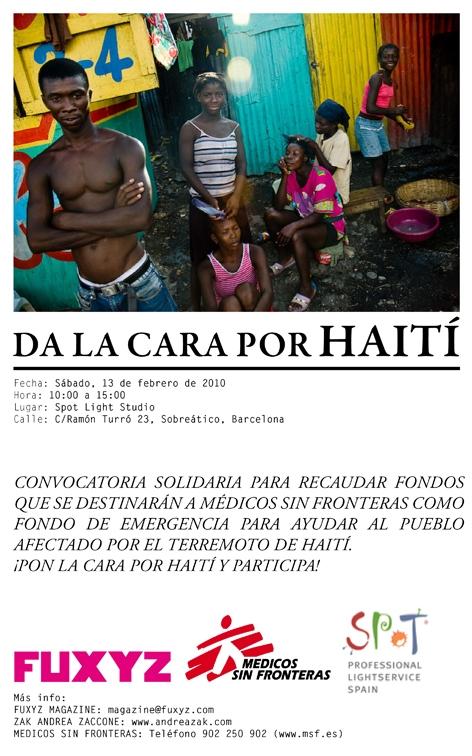 Da la cara por Haití
