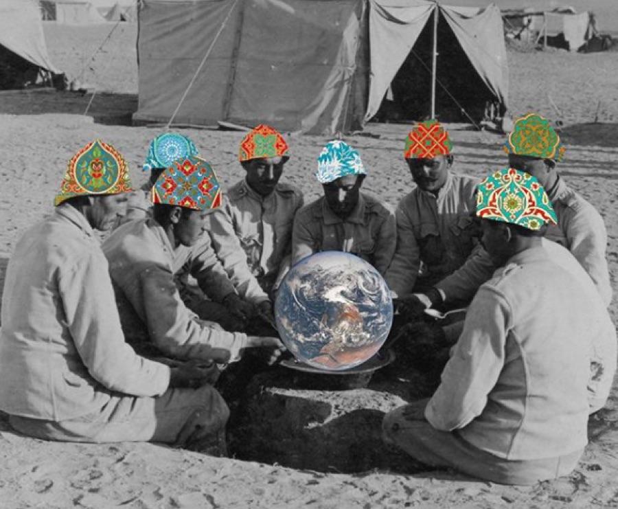 5 genios del collage de Oriente Medio