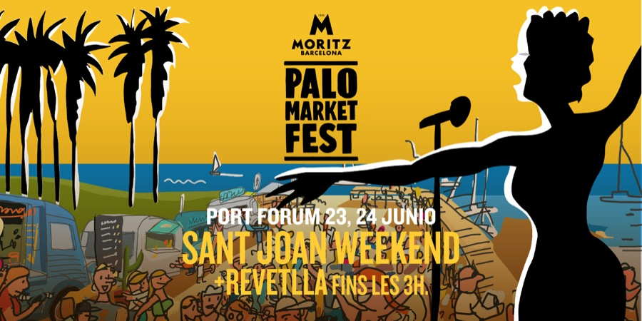 La revetlla de Sant Joan en Palo Market Fest