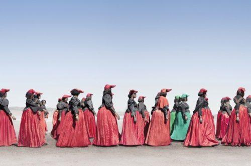 Los trajes victorianos de Namibia