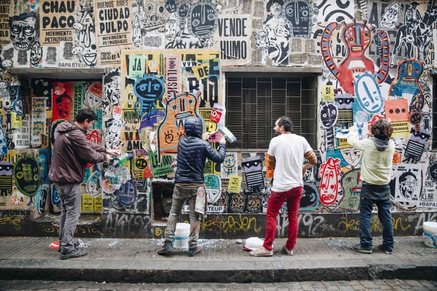 BA Paste Up arte urbano