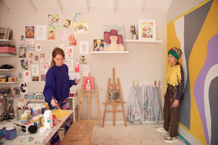 El arte viviente según Martina Elisa