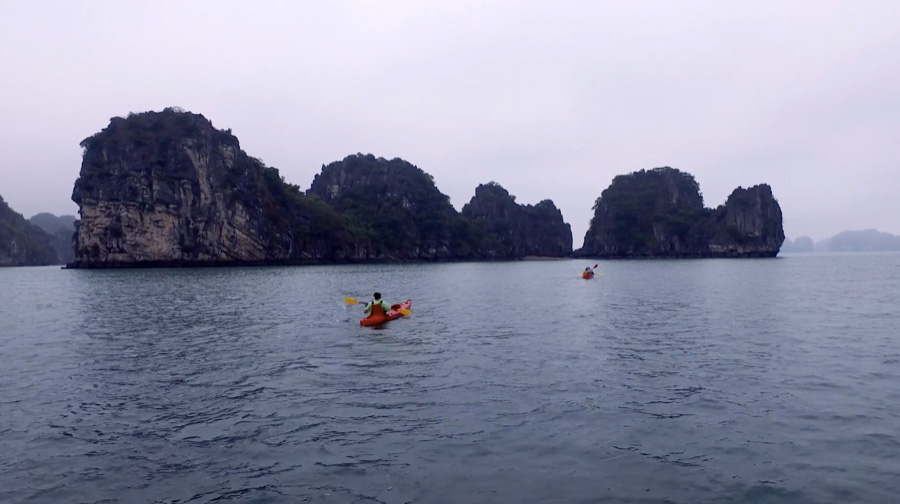 halong bay dragon legend cruise
