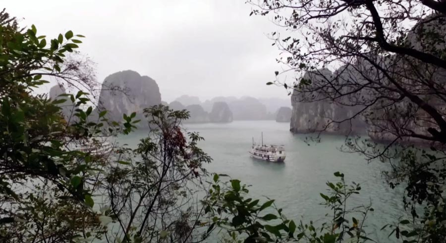 halong bay cruise dragon legend