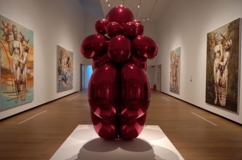 Jeff Koons en Oxford