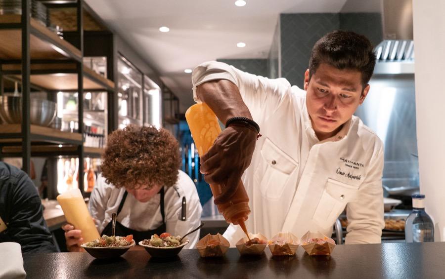 Maymanta, la nueva propuesta del chef peruano Omar Malpartida