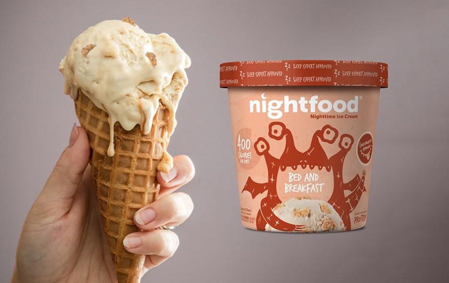 Helados para la hora de dormir: Nightfood
