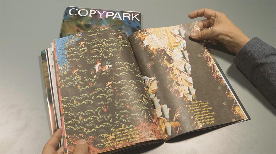 copy park magazine clase