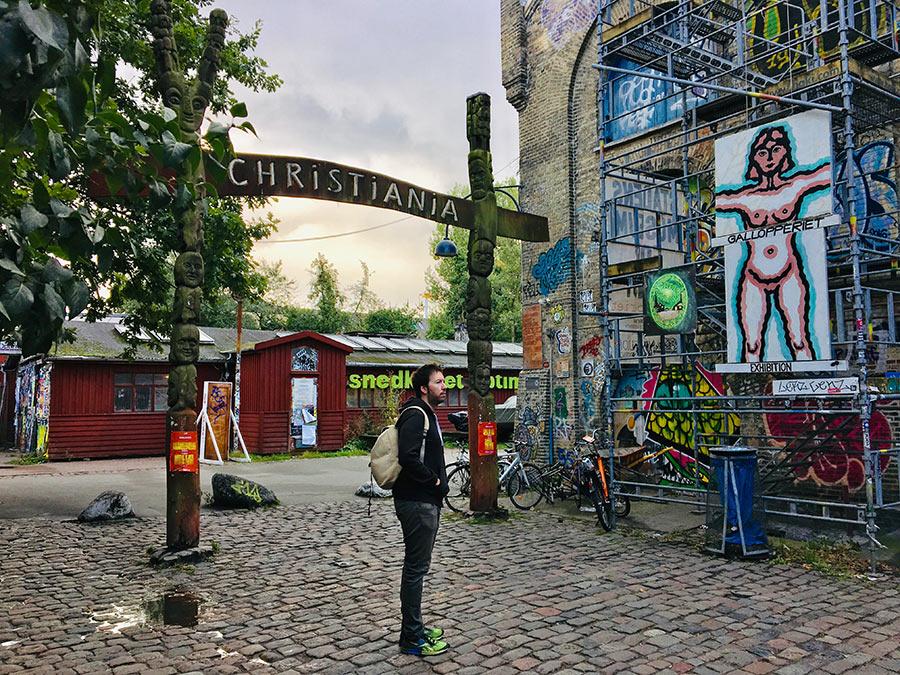 Christiania, el barrio de inspiración anarquista en Copenhague