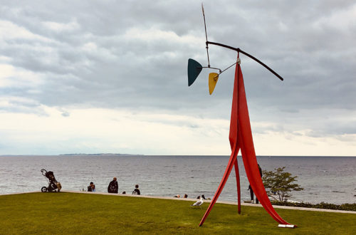 Si vas a Copenhague no te puedes perder el Museo Lousiana de arte moderno