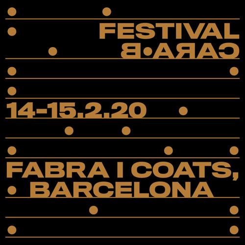 festival cara b cartel