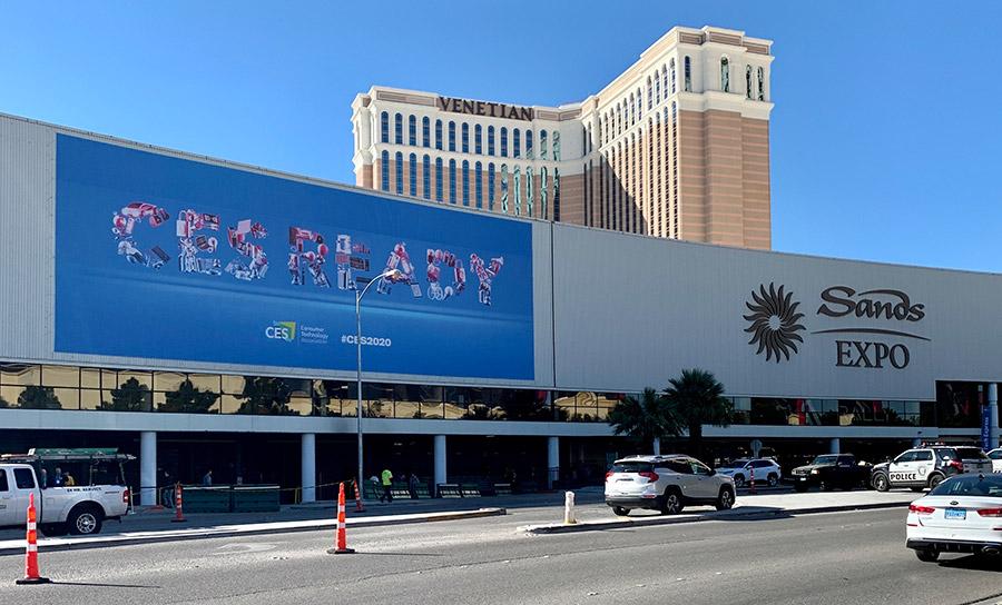 «Hey Google» CES 2020 – Las Vegas