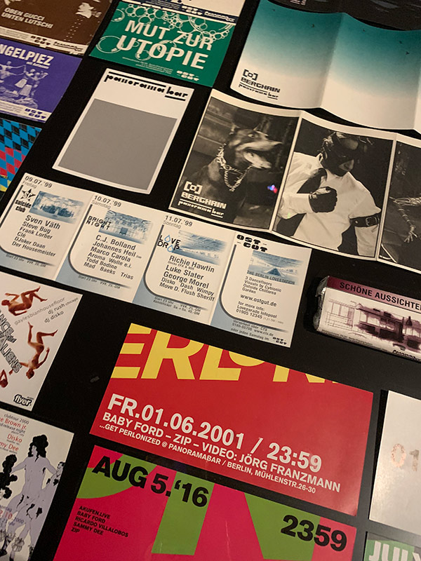 flyers No Photos on the Dance Floor berlin exposicion