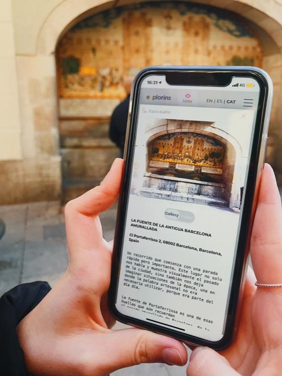 app explorins barcelona