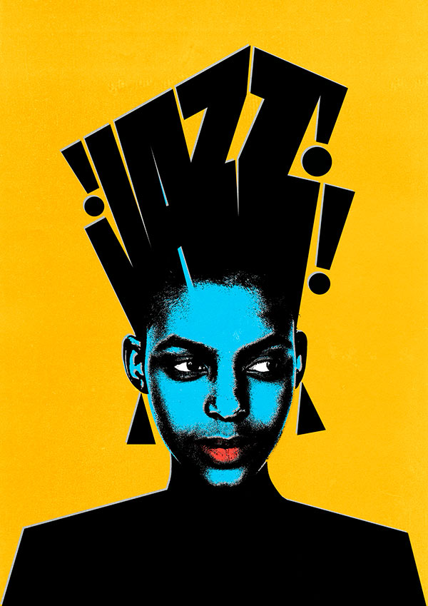 jazz sergi delgado lettering