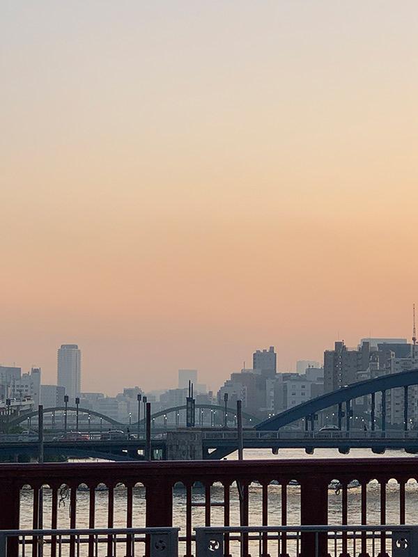 paisaje ciudad tokio 2020