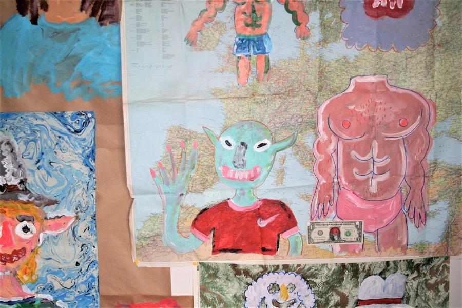 Pepo Moreno o los dibujos de un niño grande