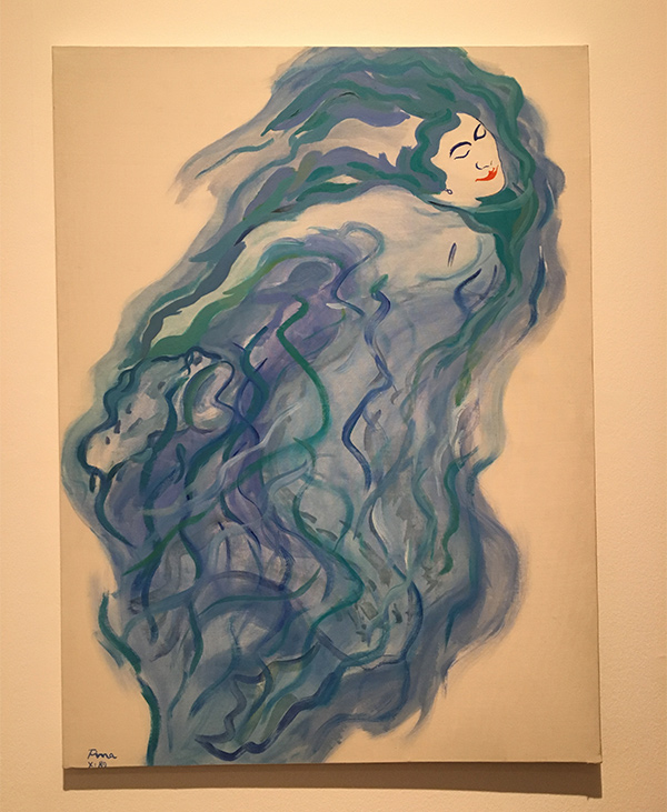 pintura mujer fina miralles