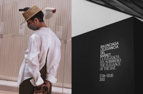 """""""BALENCIAGA. La elegancia del sombrero"""""""