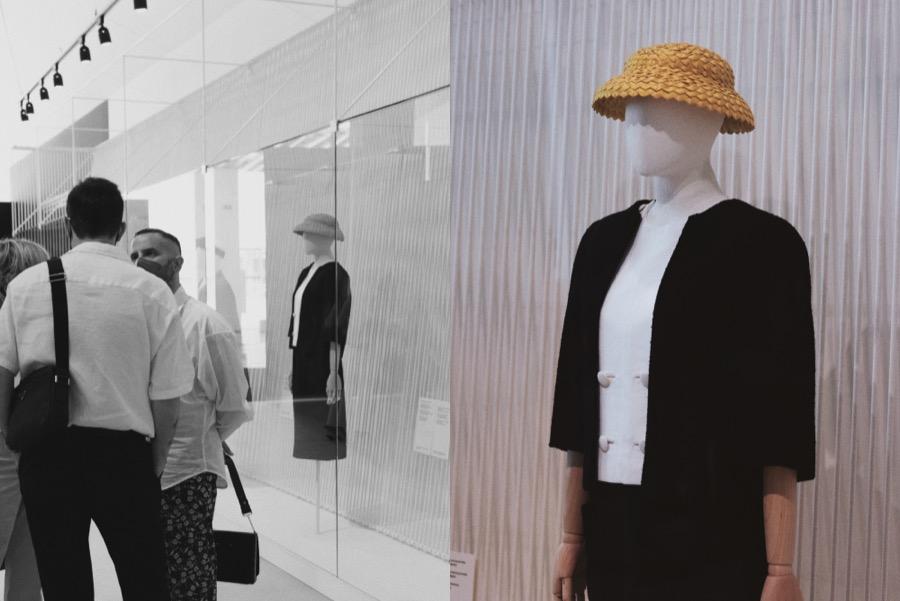 exposicion balenciaga sombrero